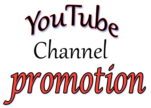 I will do youtube Chanel Promotions
