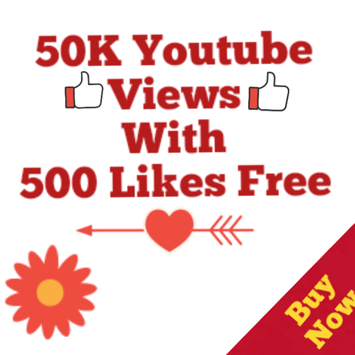 Safe 50k Youtube Views 500 Likes Free High Retention No Drop Youtube Views