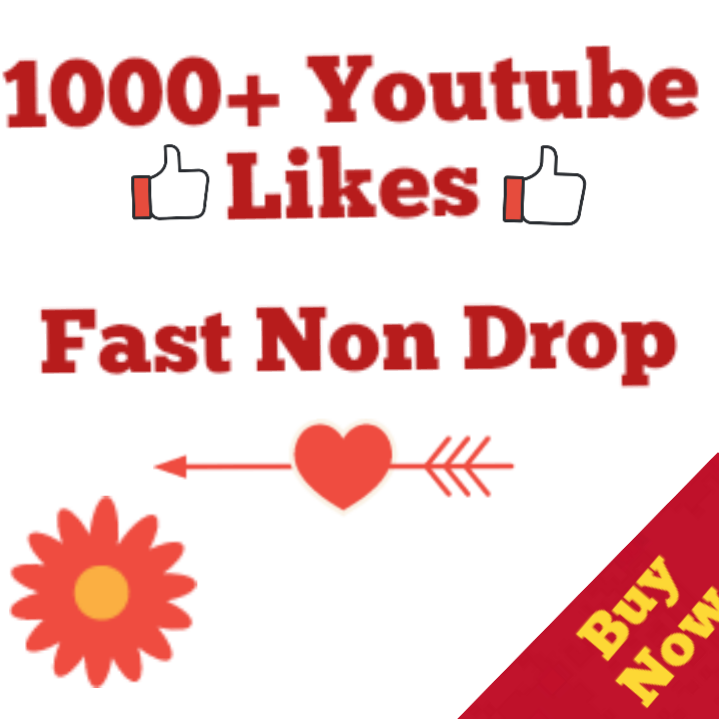 1000+ Youtube Like Complete Non Drop 24-48 Hours