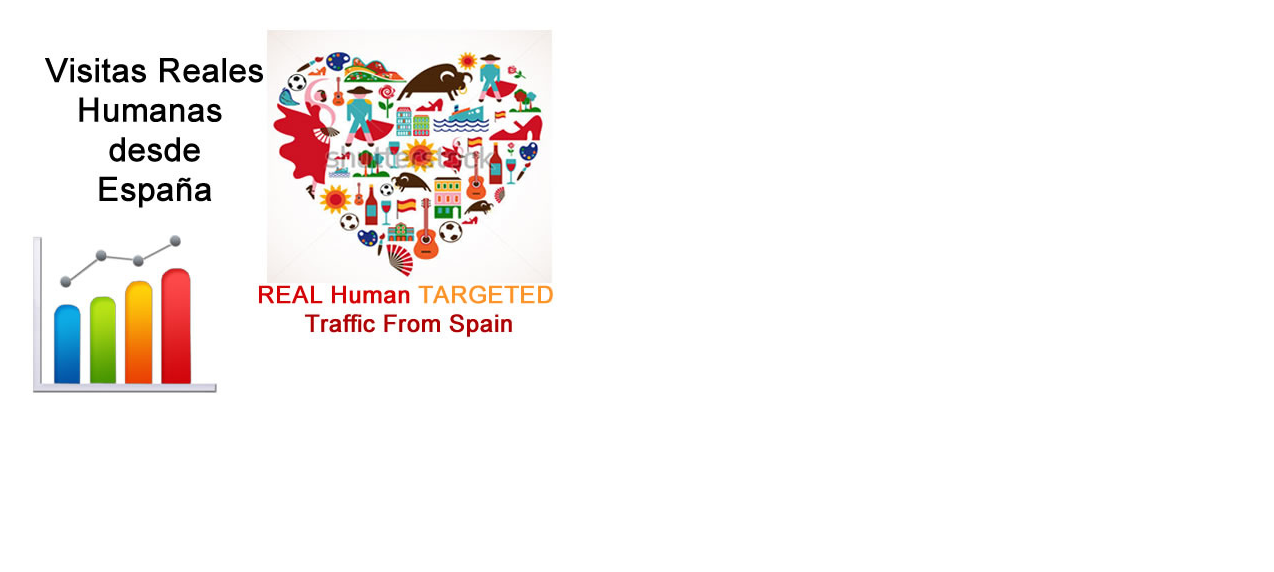 give real human traffic directed from Spain