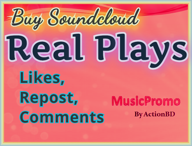 Free 1750 Play 25 Soundcloud Likes + 15 Repost + 10 Comments from USA Profile within 24 hours