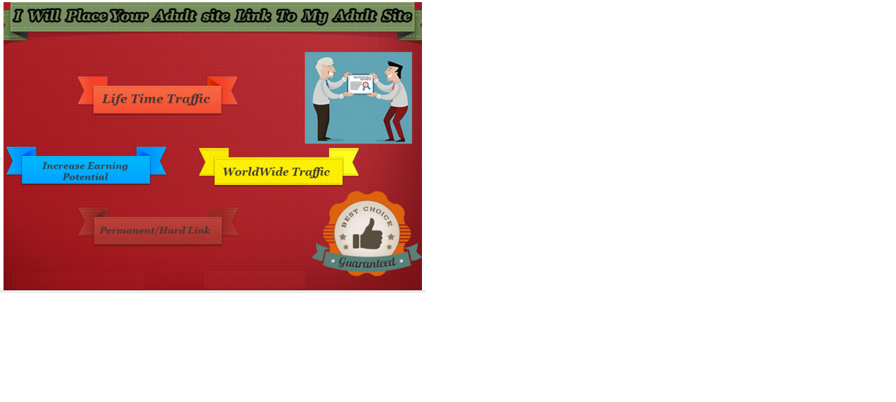 add Your Adult BACKLINK to My Adult Website