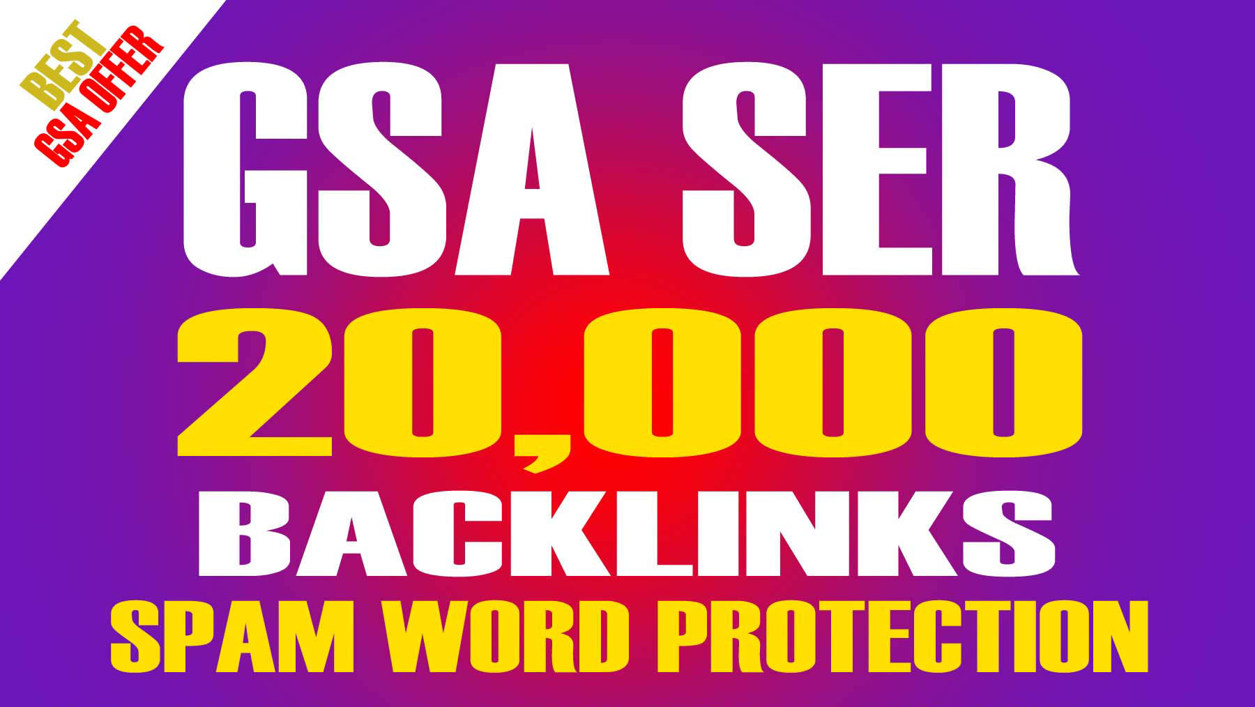 20,000 High Quality Backlinks SEO Friendly with Spam-...