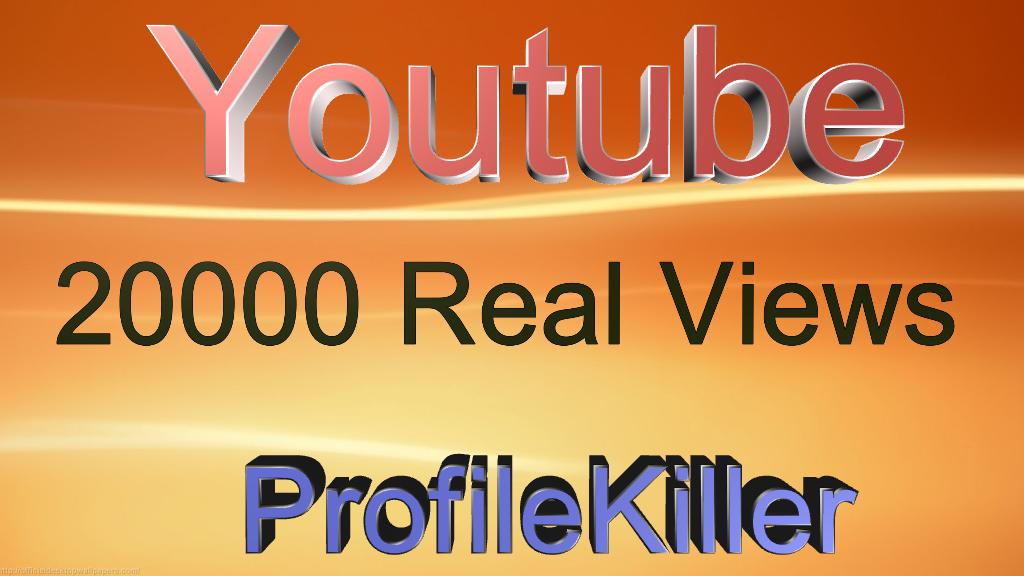 20000 Views Fast Speed instant Start