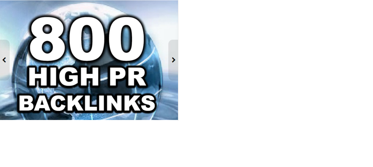 create 800 High PageRank Backlinks For Your Website Ping And Full Link Report