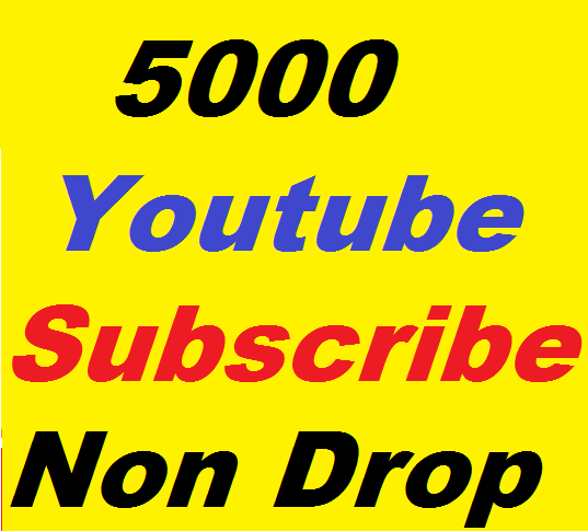 Add 5000+ YouTube Subscribers to Attractive Your Channel