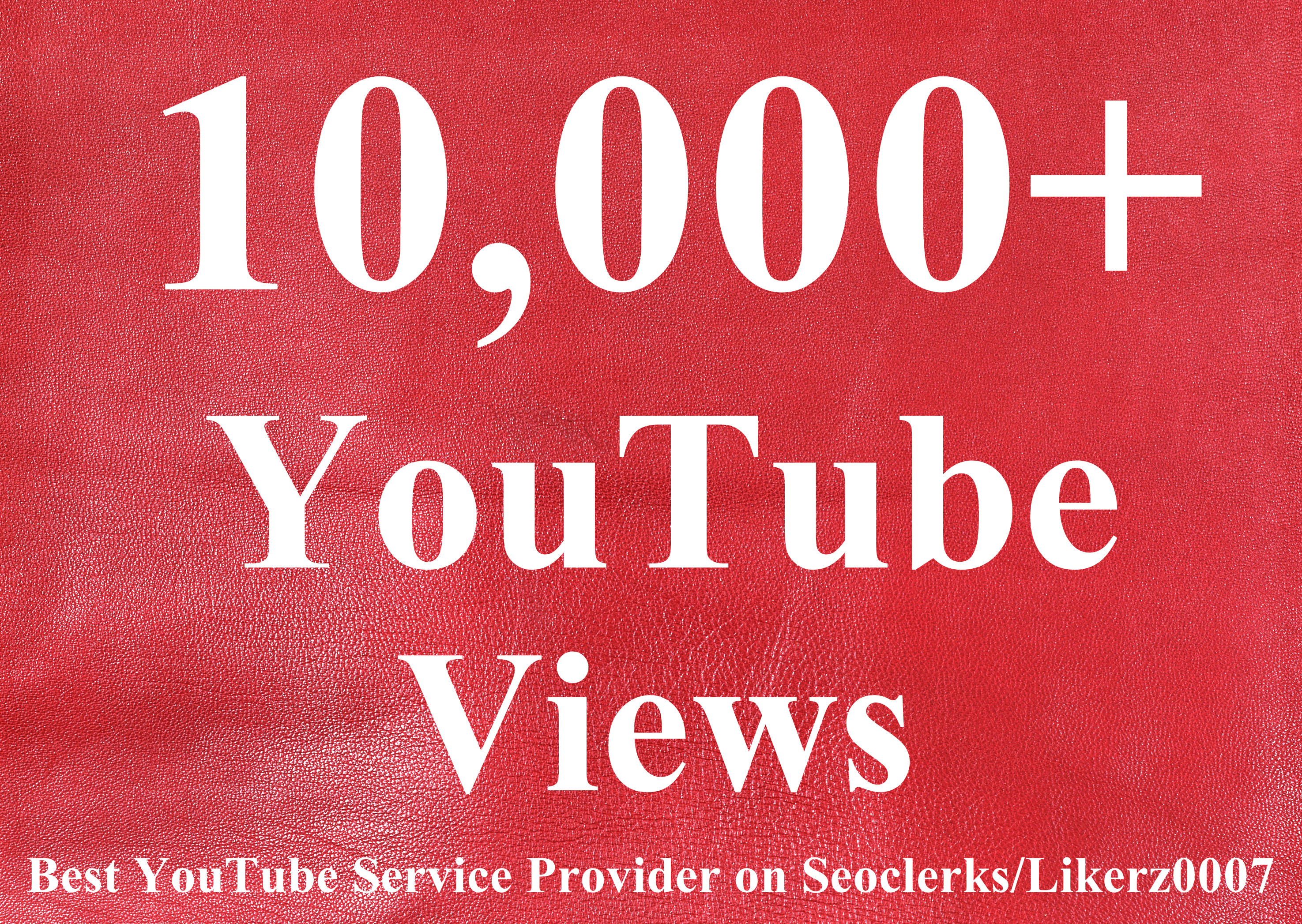 I will Provide 10000++  High Retention Safe and Non Drop Youtube Video Views