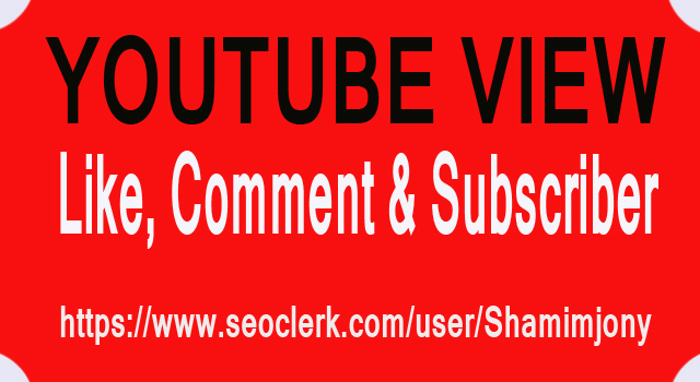 2,000 Youtube Views +20 Like +2 Comment & Subscriber Seo Promotion