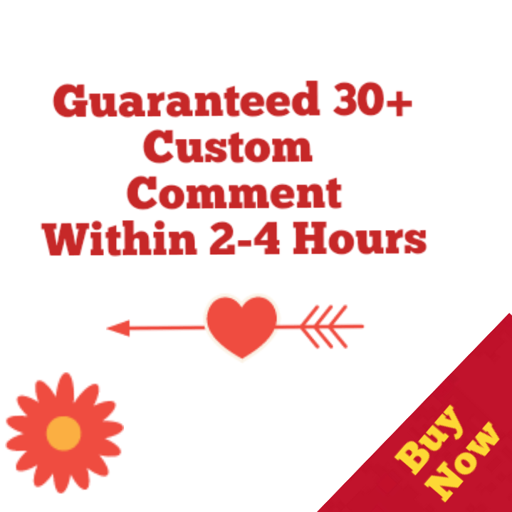 Guaranteed 30+Youtube Custom Commen ts  Video  26 Hours
