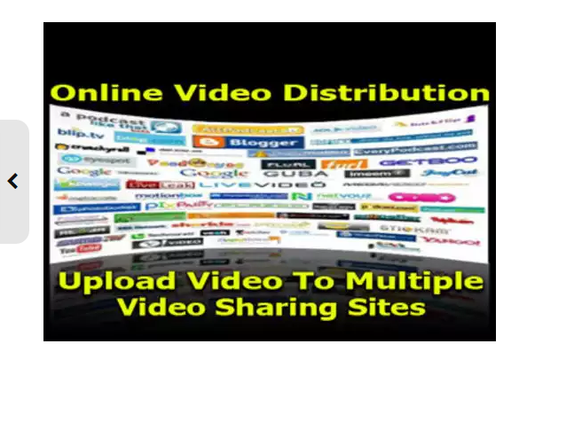 make a manual video SUBMISSION to over 30 high ranking most visited websites