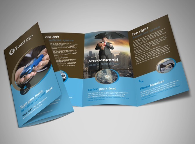 will deliver more than 100 Tri Fold Brochure Templates