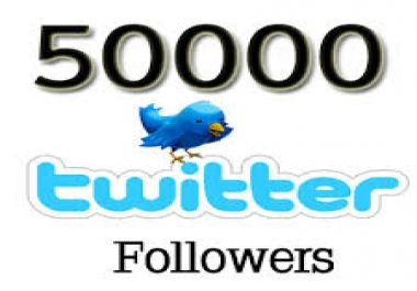 Amazing 50,000+ Twitter Followers or 30,000 Vimeo or Dailymotion Video Views