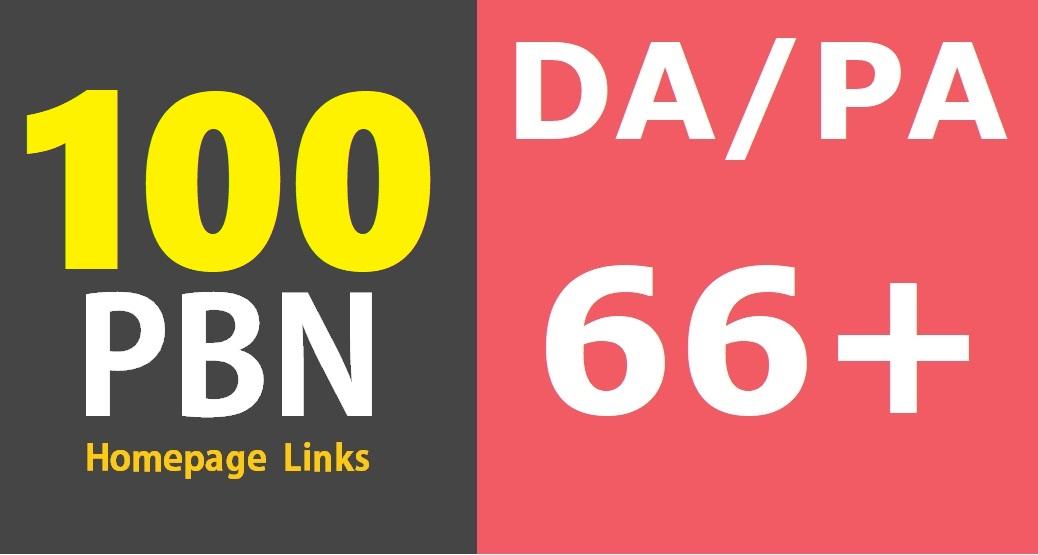 100 DA/PA 50-20+ Permanent High Quality DoFollow PBN Links