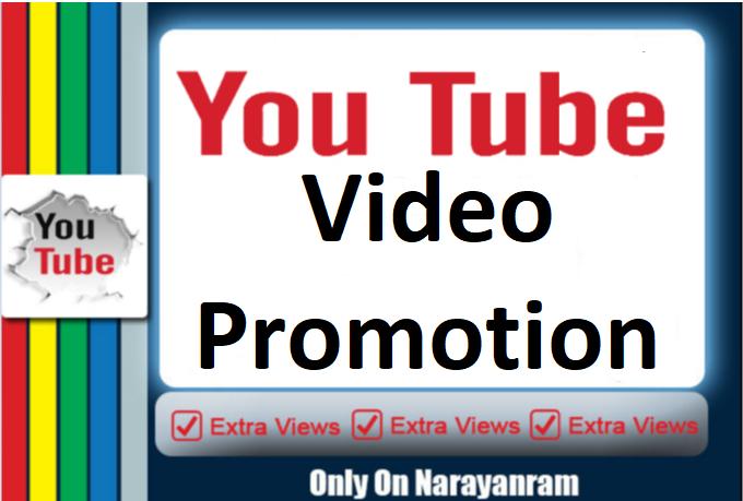 YouTube Video Marketing social Media Promotion