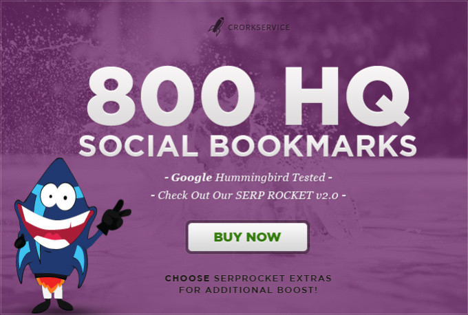 I will add your site to 800 SEO social bookmarks high...
