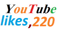 220 real youtube likes or 15 custom comments very fast