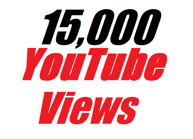Offer 15,000 Real YouTube Video Views 12-24 house completed