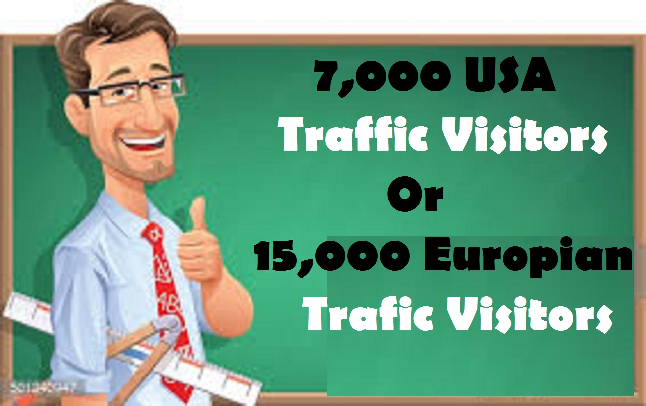 100,000 Worldwide web traffic Visitors in your web or...