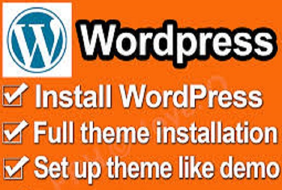 Install any wordpress theme and setup like demo in 5 ...