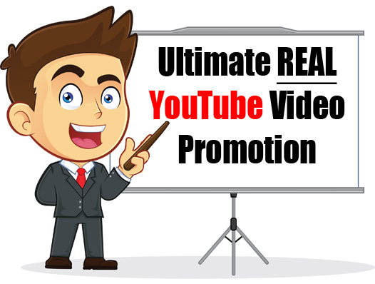 Ultimate REAL YouTube Video Promotion Service - BEST YouTube Promotion Service on Monster Backlinks