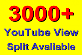 Get 3000 High Retention and Safe YouTube Video Views