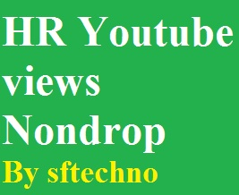 High retention Youtube video promotion no drop guarantee