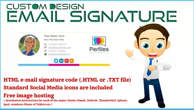 5+ Html Responsive EXCLUSIVELY Email Signature