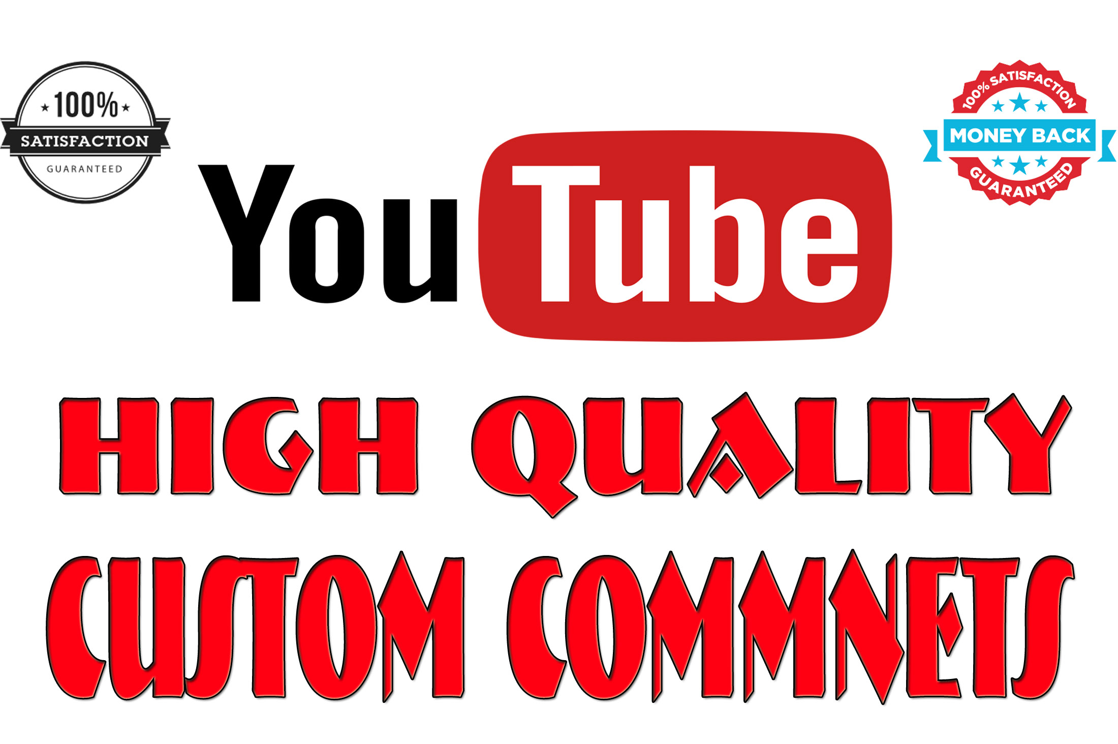 Add 40+ Custom Comments For Social Media Video