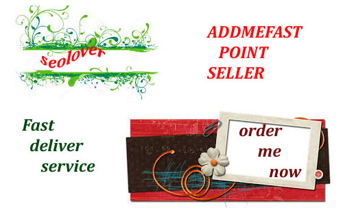 2100+ Addmefast points only for for