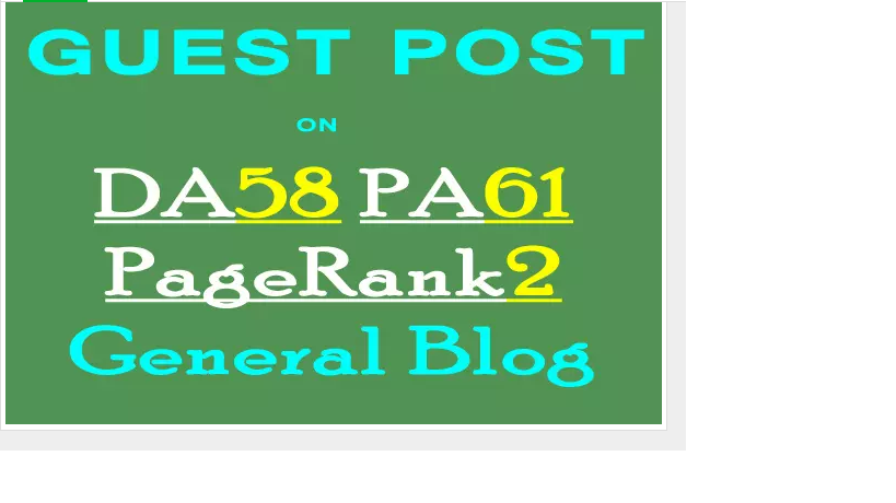 guest post on my TOP DA58 General blog