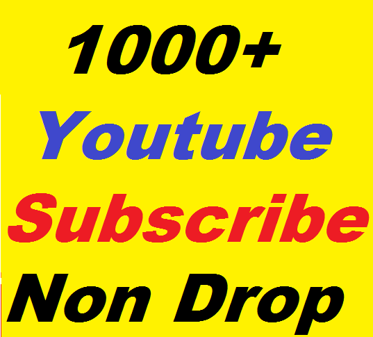 1000+ Youtube subs criber active channel very fast