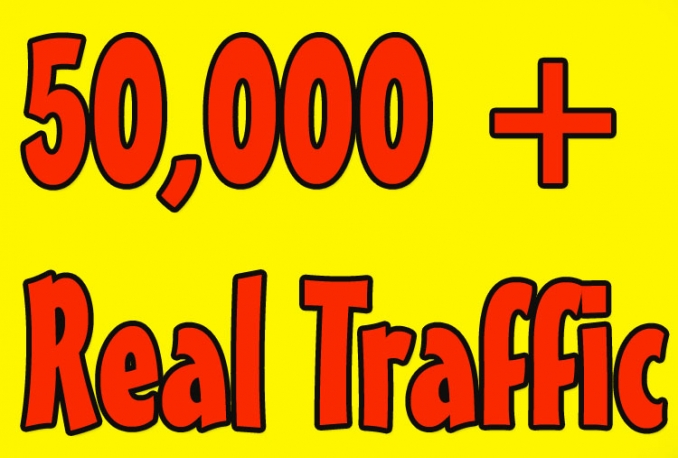 50000 Real Website Visitors Traffic to Website OR Blog