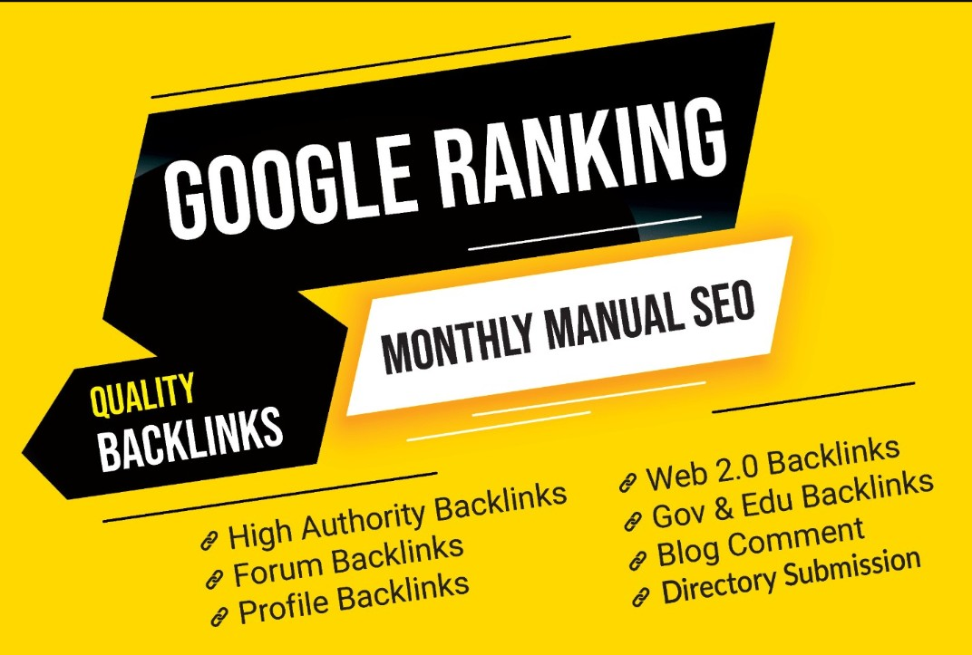 Monthly Casino Website SEO Google Ranking