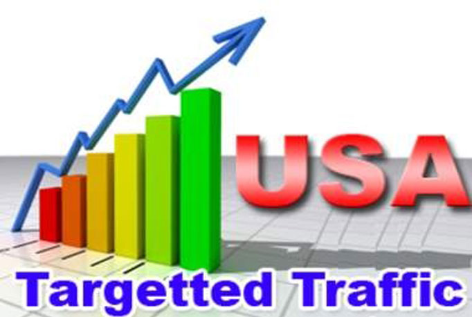 drive 100,000 USA Keyword Targeted, Organic Website Traffic By Google yahoo bing