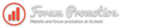 Dofollow footer text link on Forum Promotion for 1 month