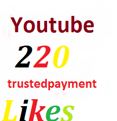 220 youtube likes or 20 subscriber or 11+YouTube Custom Comments very fast guaranteed