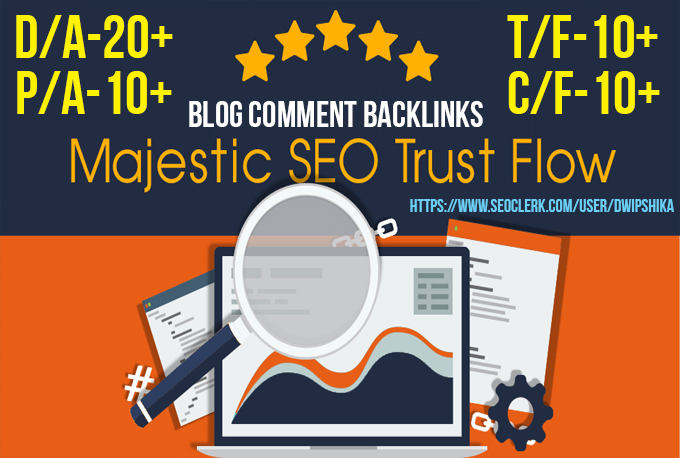 I provide you 60 high Trust flow and Citation Flow backlinks on high DA/PA
