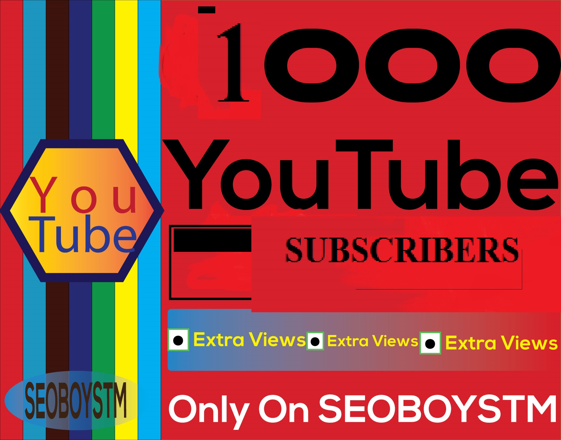 Get 500 Subs-cribers  in your channel