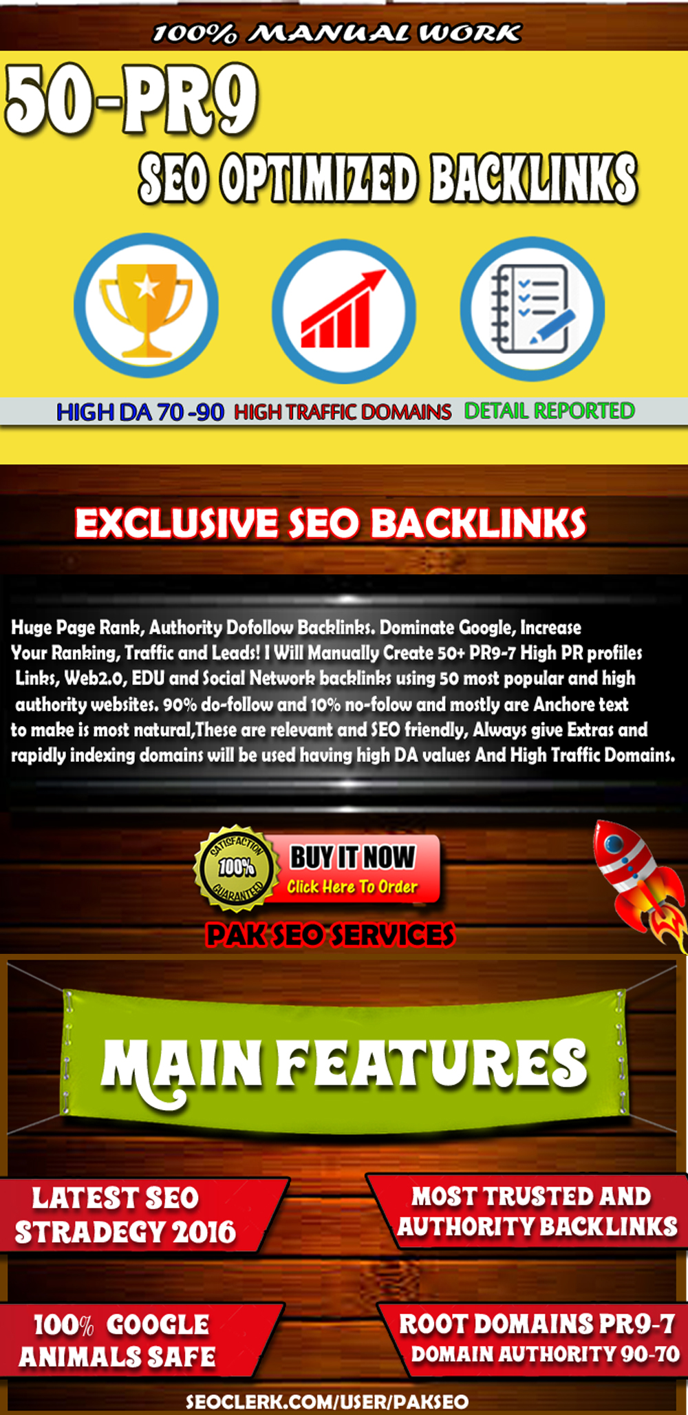 Create 40 PR9 Backlinks From High Authority Domains DA90-70