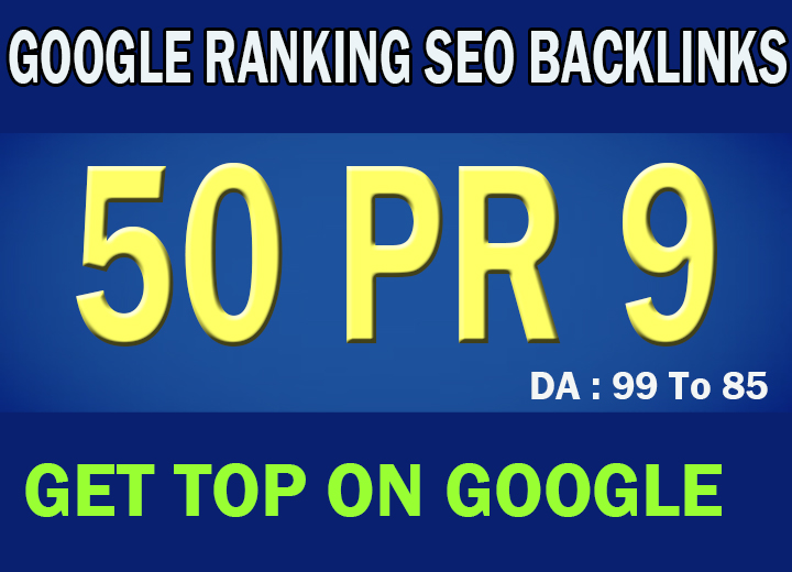 24 Hour Delivery 50 PR7-9 High DA 80+ Authority SEO B...