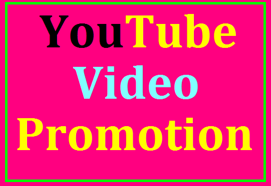 Organic YouTube Video Promotion Very fast delivery