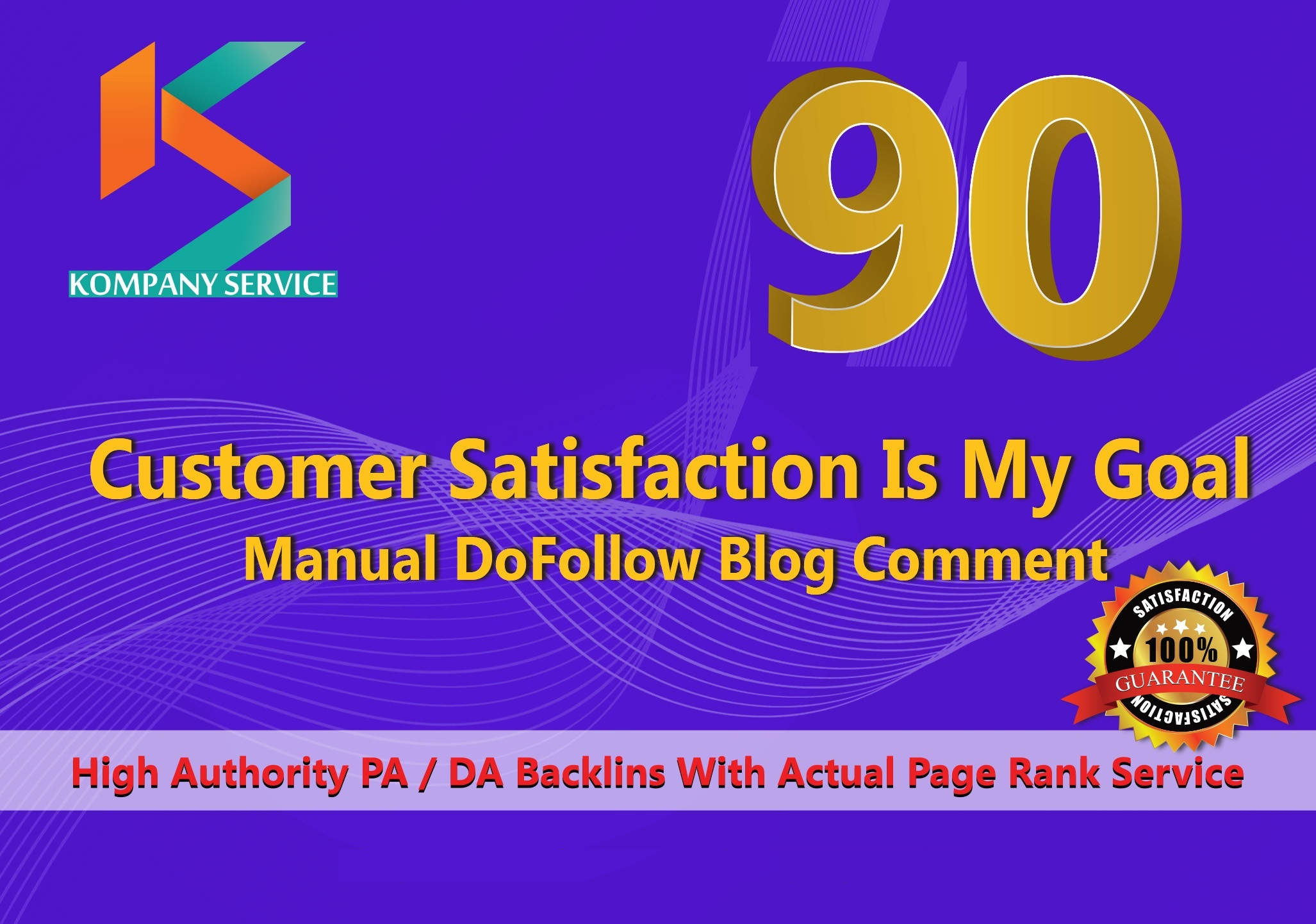 Create Manually (90) High PA & DA Blog Comment Backlinks