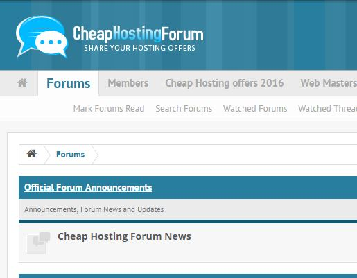 Signature link in cheap hosting forum for 1 month
