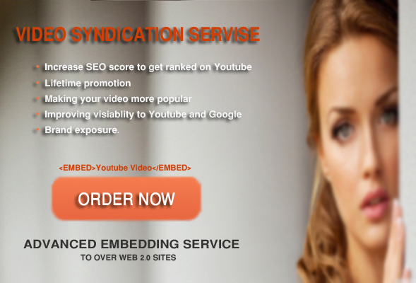 Youtube Viral SEO - 10,000 Embeds, Backlinks, 20 social signals, 500 Livestream profile submission & more