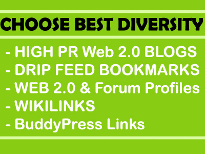 High PR Web 2.0 Contextual Backlink & 2nd Tier linking using Extras with Lindexed Submission
