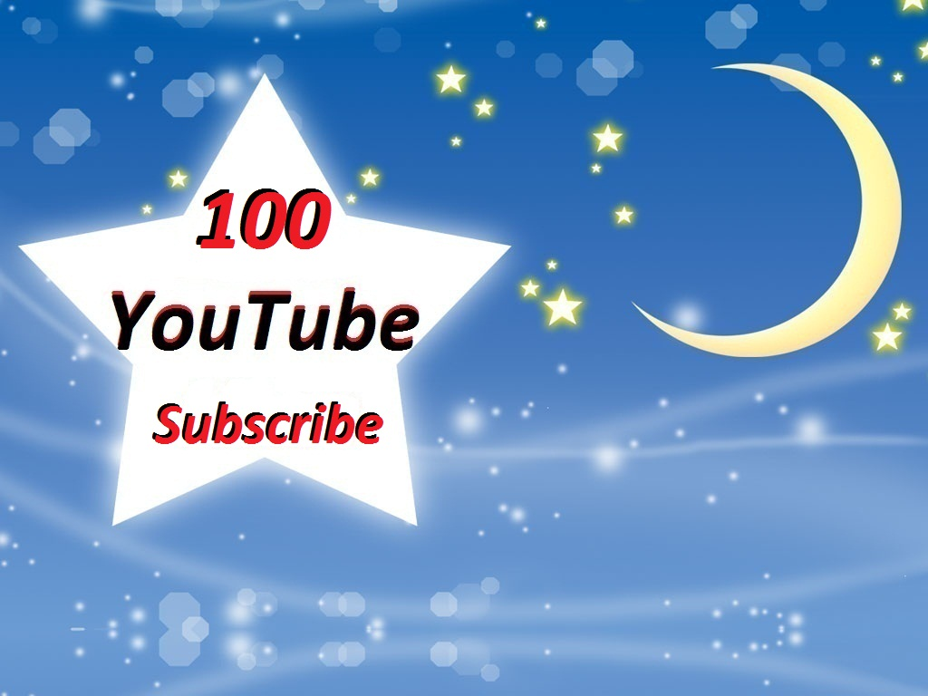 100 YouTube Subscribe non drop