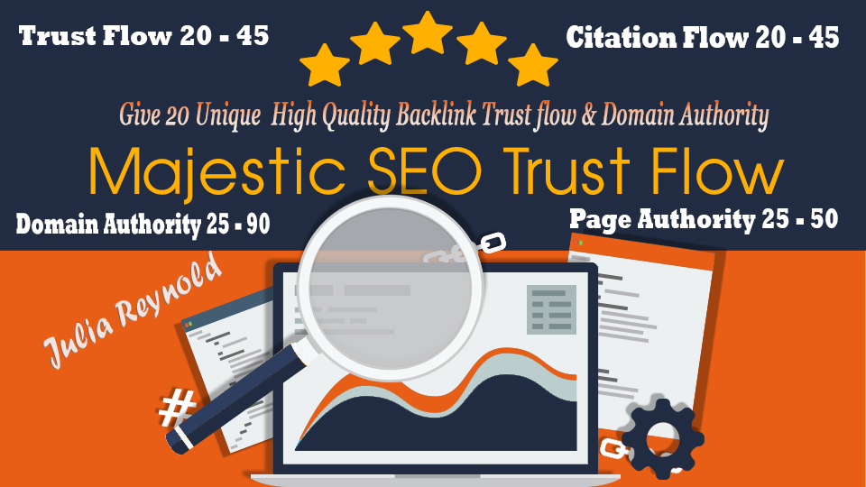 Give 20 Unique High Trust flow and citation flow blog commenting backlinks with high DA/PA