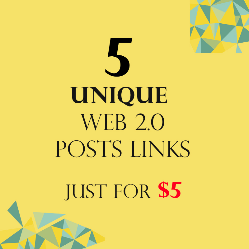 Unique 5 Web 2.0 Posts Link