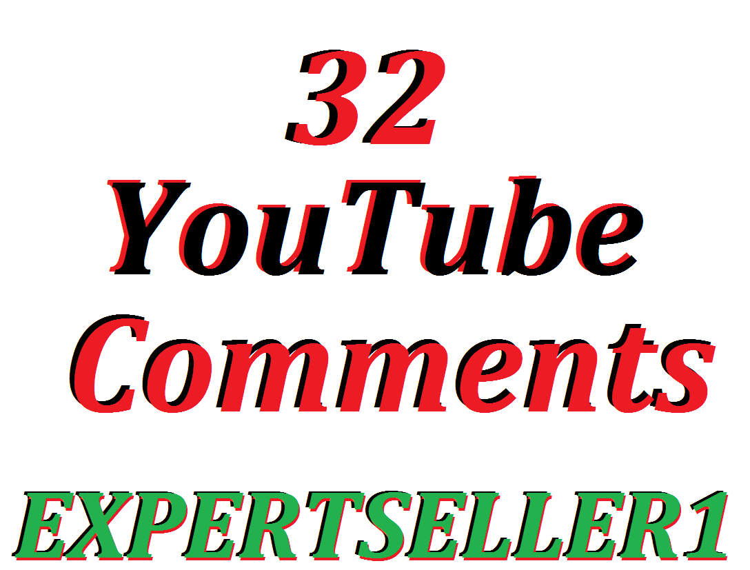 Offer 32 YouTube Custom Comments In Your Video