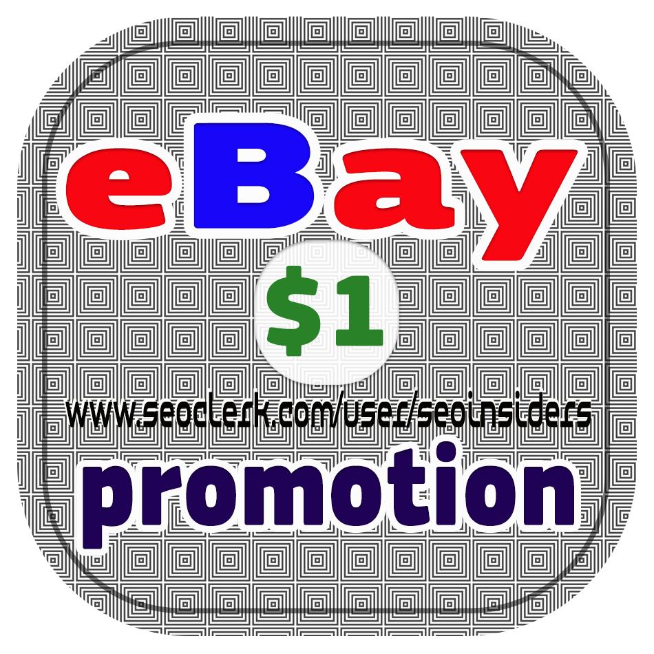 PROMOTE any eBay Items,  listing